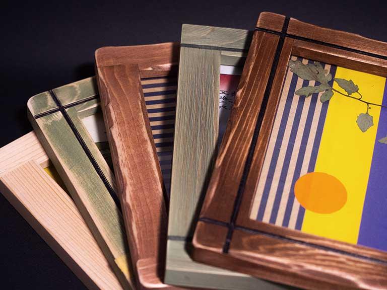 木工クラフト オリジナルフォトフレーム